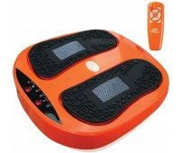 Power Legs Vibration Plate Foot Massager Platform Rotating Acupressure Head TV